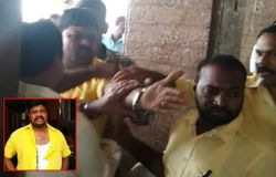 Tdp rival groups attacked each other in vizayanagaram