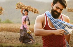 ram charan fans angry on rangasthalam movie producers