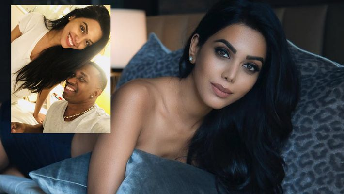In Pics: Dwayne Bravo's girlfriend goes topless