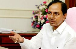 Early poll suspense up as KCR rushes to Delhi