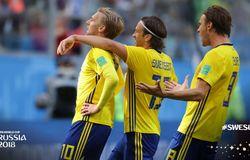 FIFA World Cup 2018: Sweden beat Switzerland 1-0 to enter quarters