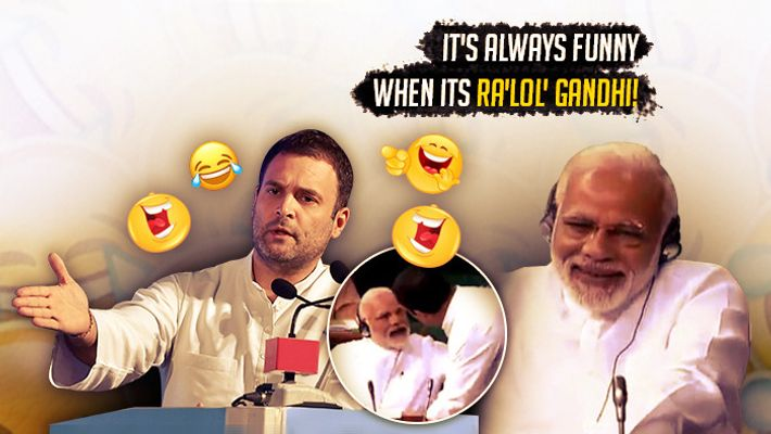 Rahul Gandhi hit the funny bone in Lok Sabha during the No Confidence Motion debate: Here are some hilarious memes