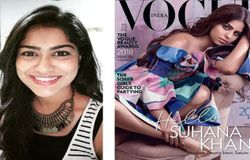 struggling actor rants about suhana khans vogue india cover on twitter