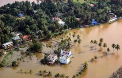 kerala police chief official collects urgent needs for refugee camps