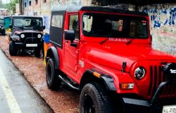 Mahindra thar group rescue missions in Kerala flood 2018