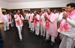 kcr rejected two sitting mlas seats