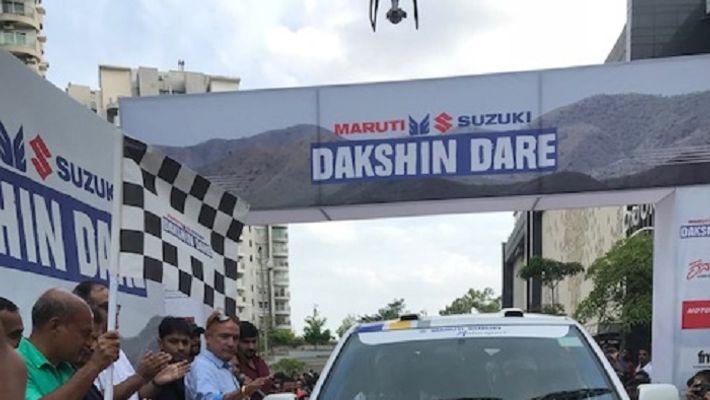 Maruti Suzuki Dakshin Dare 2018 Gaurav Gill Suresh Rana showdown