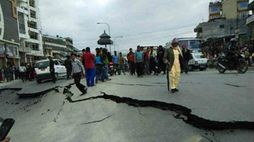 Earthquake in Haryana, tremors felt in parts of Delhi