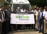 A formal launch of the campaign of the Startup Yatra by Mr KTR