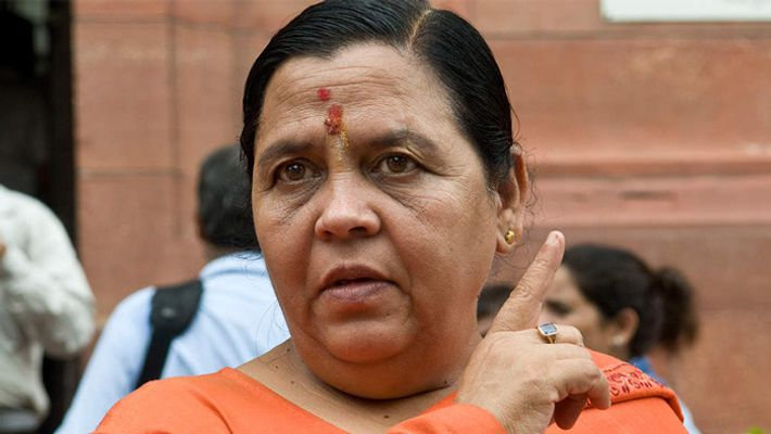 If I am sent to the gallows ... I will be blessed.! BJP leader Uma Bharti's action attack!