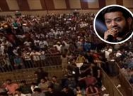 NTR Fans Hungama at Pre Release event