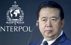 Interpol chief missing in china
