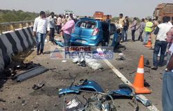 Outer ring road accident