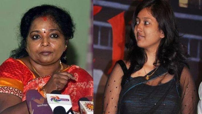 Gayathri Raghuram against Tamilisai!