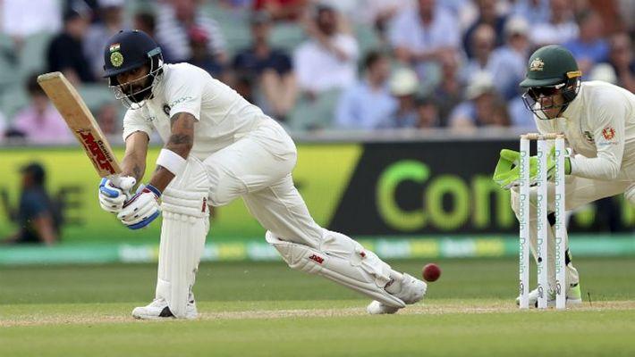 India Australia 1st Test Day 3 Cheteshwar Pujara Virat Kohli Adelaide