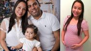 Baby born after the first ever womb transplant from a dead donor is shown off by her proud parents