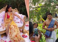 Diganth- Aindrita Ray pre-wedding ceremony