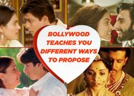Valentine's special Bollywood style love proposals inspiration