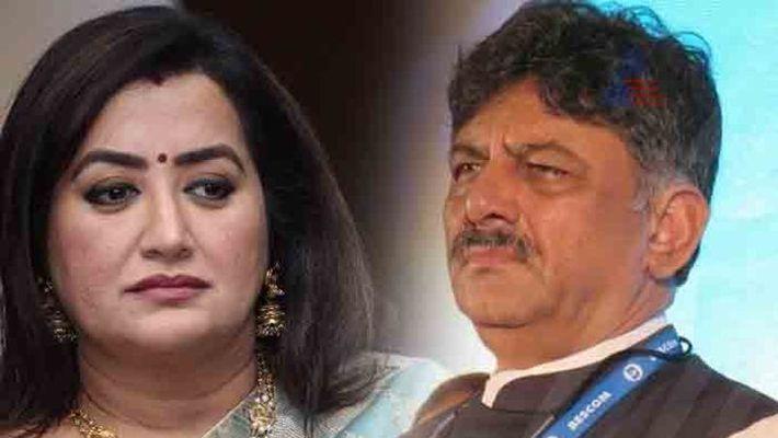 D K Shivakumar rubbished rumors that Sumalatha Ambareesh  being given a ticket For Mandya Loksabha