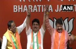 arjun singh of TMC joined BJP