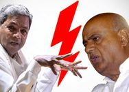HD Devegowda Accuses Siddaramaiah For Coalition Govt Downfall