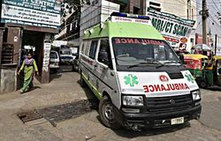 Green Ambulance
