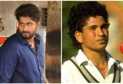 Dhyan act as sachin in a film