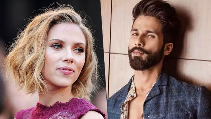 Shahid Kapoor finds Scarlett Johansson hot and wants to watch her taking a shower