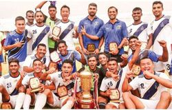 Indian Navy football team