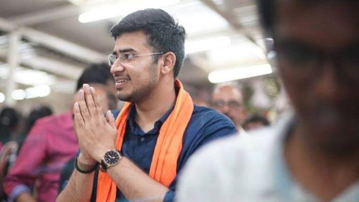 BJP MP Tejasvi Surya May Become National General secretary Of Yuva Morcha