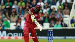 Chris Gayle smashed a 34-ball 50 as West Indies cruised to a seven-wicket victory over Pakistan