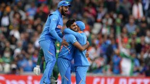 ICC World Cup 2019 Vijay Shankar joins elite list with wicket off first ball in World Cups