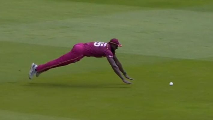 Brathwaite comic misfield video wi vs nz