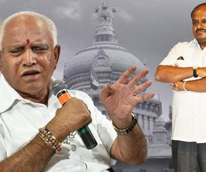Yeddyurappa criticises ruling coalition Karnataka terms it sleeping government