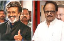 Rajinikanth and S P Balasubhrahmanyam