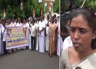 MP Jothimani Protest Video..
