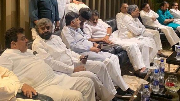 Karnataka Political Crisis Congress MLAs Shifted To Hotel