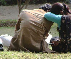 shocking murder,  boyfriend pushed the girlfriend ahead of the train In Jharkhand
