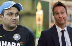 Sehwag and Vaughan
