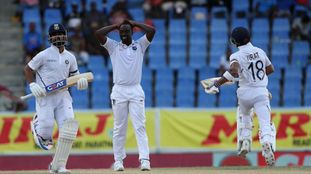 India in driving seat against West Indies in Antigua