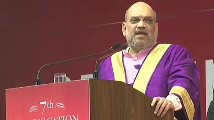 Home minister Amit Shah hails PM Modi, says J&K has been made inseparable in one go