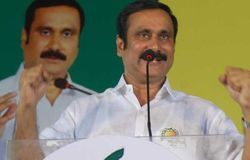 anbuman told no alliance with admk and bjp