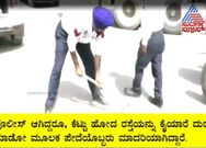 Punjab traffic Police fills up potholes on Bhatinda roads