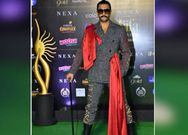 Ranveer Singh imitate Uppi hairstyle and costume in IIFA 2019