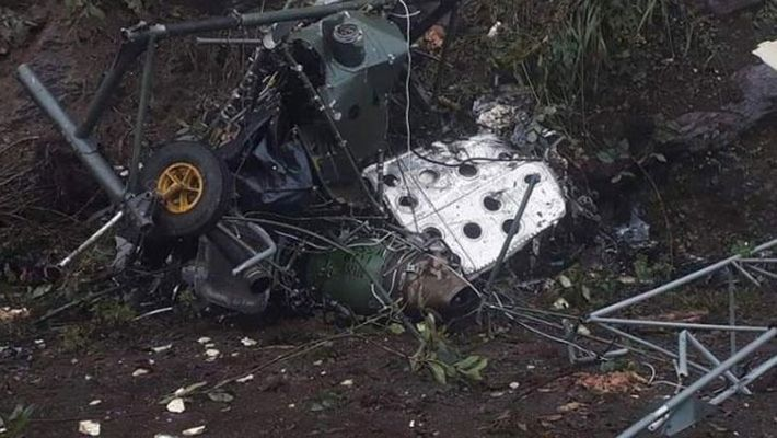 Indian Army Cheetah helicopter crashes...2 pilots killed