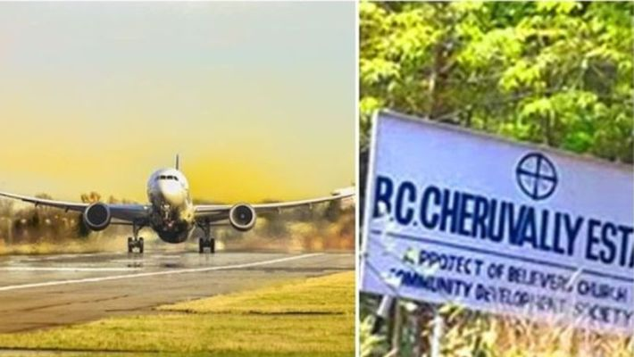 sabarimala airport to be constructed in cheruvally estate