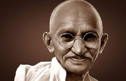 how to gandhi sucided question by school