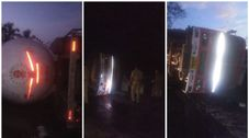 tanker lorry accident at valancherry