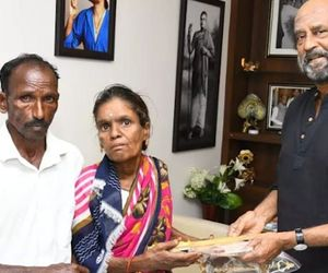 Superstar Rajinikanth constructs houses for Gaja cyclone victims