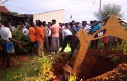 Baby in borewell